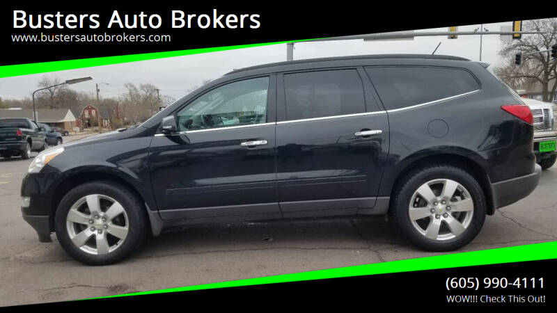 2012 Chevrolet Traverse for sale at Busters Auto Brokers in Mitchell SD