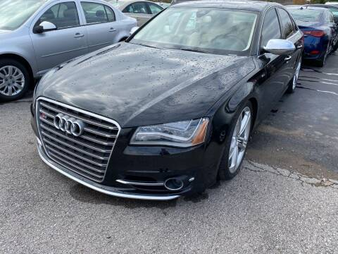 2013 Audi S8 for sale at Tennessee Auto Brokers LLC in Murfreesboro TN