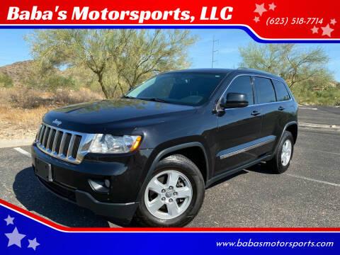 2013 Jeep Grand Cherokee for sale at Baba's Motorsports, LLC in Phoenix AZ