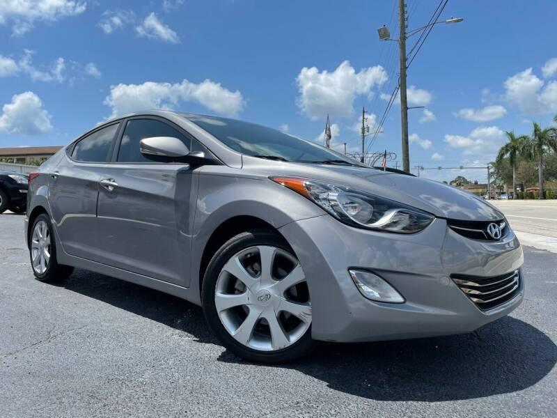 2012 Hyundai Elantra for sale at Kaler Auto Sales in Wilton Manors FL