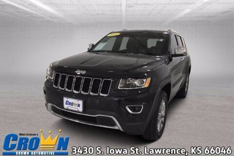 2016 Jeep Grand Cherokee for sale at Crown Automotive of Lawrence Kansas in Lawrence KS