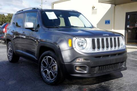 2016 Jeep Renegade for sale at CU Carfinders in Norcross GA