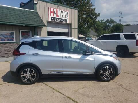 2017 Chevrolet Bolt EV for sale at H & L AUTO SALES LLC in Wyoming MI