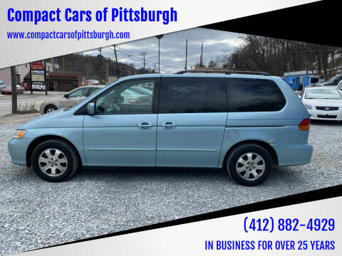 2004 Honda Odyssey for sale at Compact Cars of Pittsburgh in Pittsburgh PA