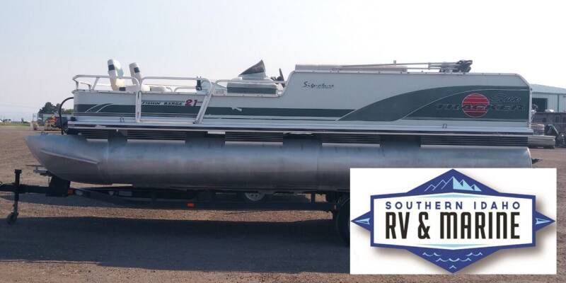 2000 SUN TRACKER FISHING BARGE for sale at SOUTHERN IDAHO RV AND MARINE - Used Boats in Jerome ID
