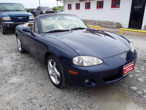 2001 Mazda MX-5 Miata for sale at Sarpy County Motors in Springfield NE