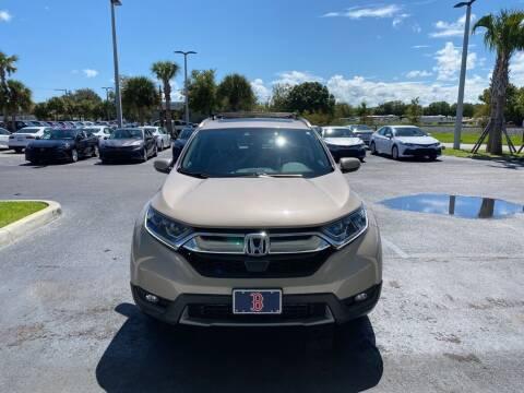 2019 Honda CR-V for sale at PHIL SMITH AUTOMOTIVE GROUP - Toyota Kia of Vero Beach in Vero Beach FL