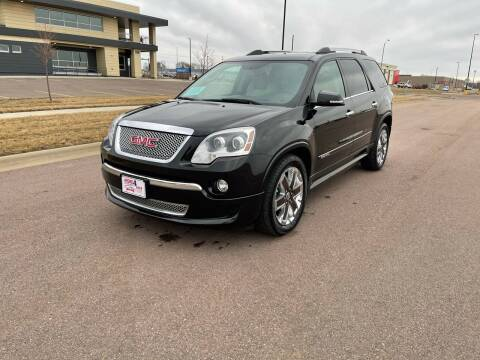 2012 GMC Acadia for sale at More 4 Less Auto in Sioux Falls SD