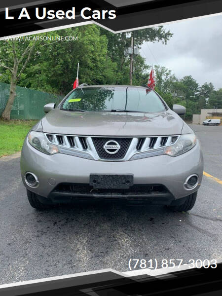 2009 Nissan Murano for sale at L A Used Cars in Abington MA