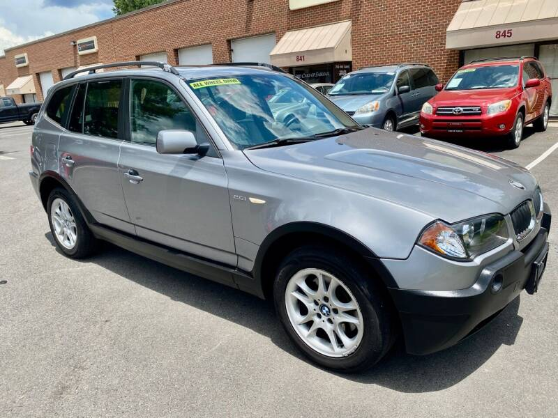 2004 BMW X3 for sale at Used Cars of Fairfax LLC in Woodbridge VA