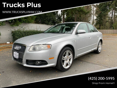 2008 Audi A4 for sale at Trucks Plus in Seattle WA