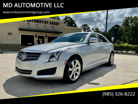 2014 Cadillac ATS for sale at MD AUTOMOTIVE LLC in Slidell LA