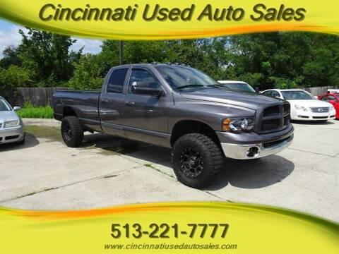 2005 Dodge Ram Pickup 2500 for sale at Cincinnati Used Auto Sales in Cincinnati OH
