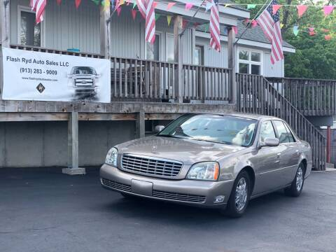 2003 Cadillac DeVille for sale at Flash Ryd Auto Sales in Kansas City KS