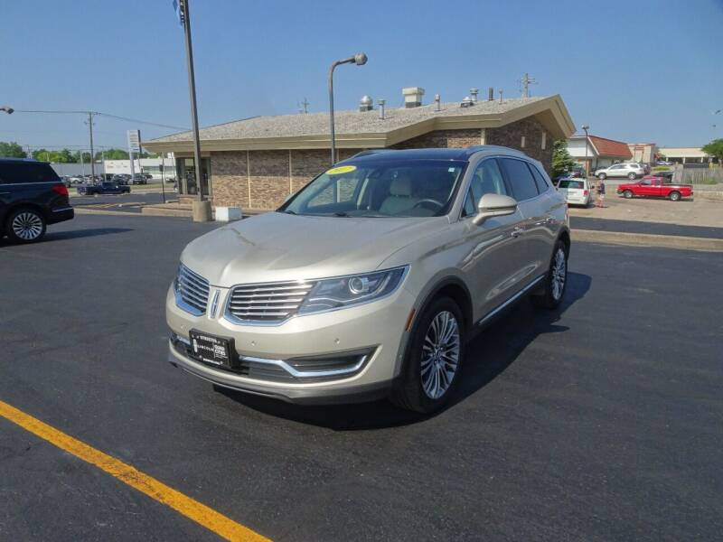2017 Lincoln MKX for sale in Davenport, IA