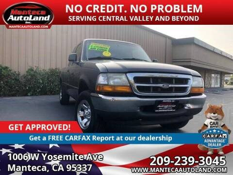 2000 Ford Ranger for sale at Manteca Auto Land in Manteca CA