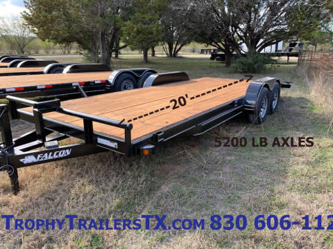 2021 FALCON 20' CAR HAULER for sale at Trophy Trailers in New Braunfels TX
