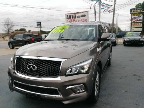 2017 Infiniti QX80 for sale at AUTOPLEX 528 LLC in Huntsville AL