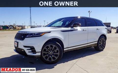 2019 Land Rover Range Rover Velar for sale at Meador Dodge Chrysler Jeep RAM in Fort Worth TX