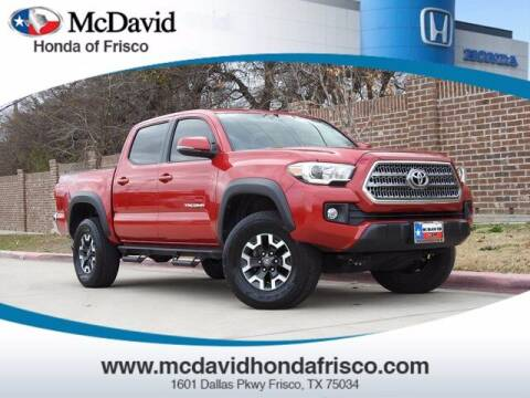 2017 Toyota Tacoma for sale at DAVID McDAVID HONDA OF IRVING in Irving TX
