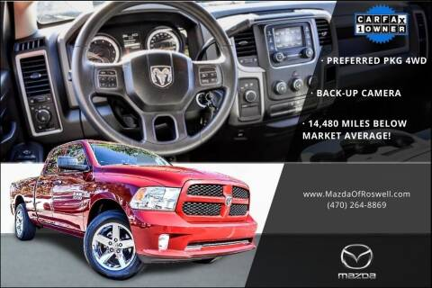 2014 RAM Ram Pickup 1500 for sale at Mazda Of Roswell in Roswell GA