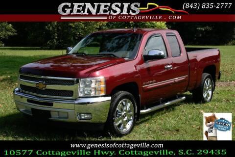 2013 Chevrolet Silverado 1500 for sale at Genesis Of Cottageville in Cottageville SC