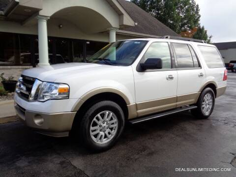 2013 Ford Expedition for sale at DEALS UNLIMITED INC in Portage MI