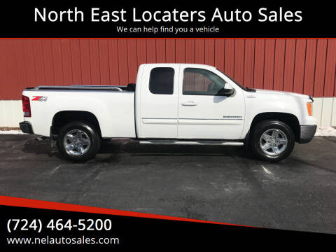 2010 GMC Sierra 1500 for sale at North East Locaters Auto Sales in Indiana PA
