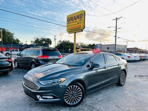 2017 Ford Fusion for sale at Grand Auto Sales in Tampa FL