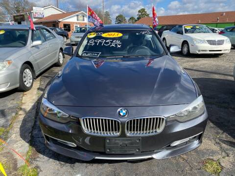 2013 BMW 3 Series for sale at L&M Auto Import in Gastonia NC