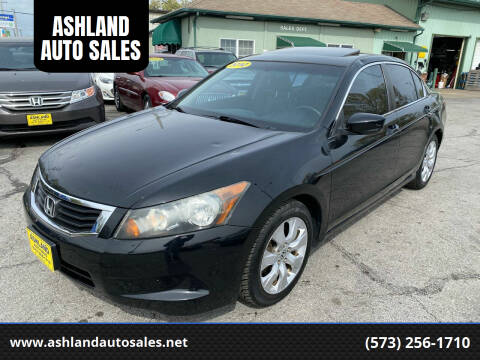 2010 Honda Accord for sale at ASHLAND AUTO SALES in Columbia MO