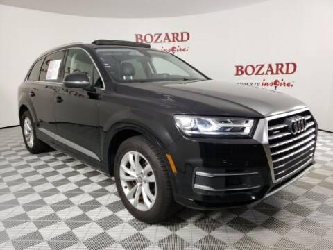 2017 Audi Q7 for sale at BOZARD FORD in Saint Augustine FL