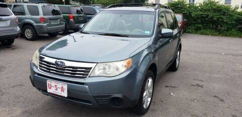 2009 Subaru Forester for sale at Union Street Auto in Manchester NH