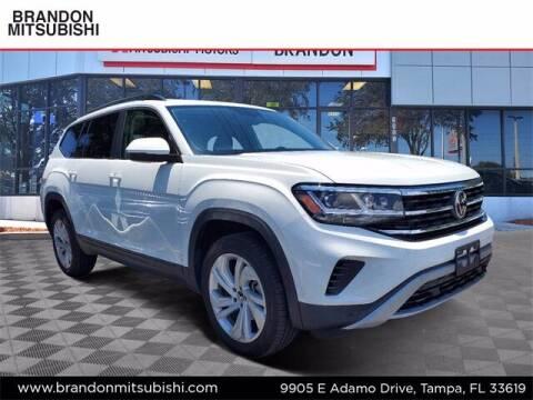 2021 Volkswagen Atlas for sale at Brandon Mitsubishi in Tampa FL
