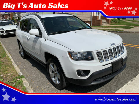 2014 Jeep Compass for sale at Big T's Auto Sales in Belleville NJ