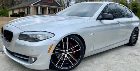 2011 BMW 5 Series for sale at E-Z Auto Finance in Marietta GA