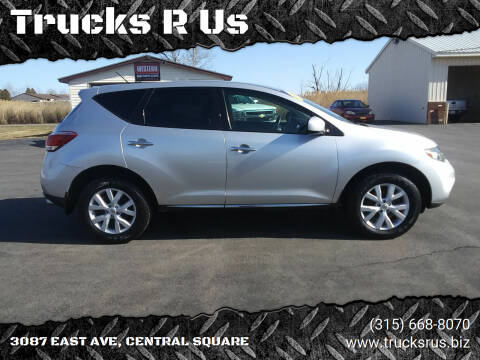 2012 Nissan Murano for sale at Trucks R Us in Central Square NY