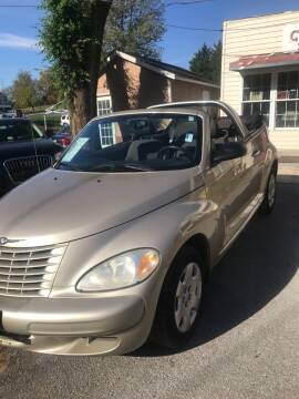 2005 Chrysler PT Cruiser for sale at PREOWNED CAR STORE in Bunker Hill WV