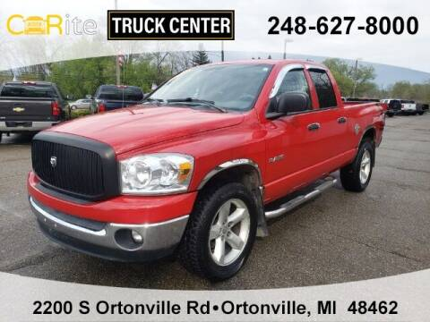2008 Dodge Ram Pickup 1500 for sale at Jamie Sells Cars 810 in Ortonville MI