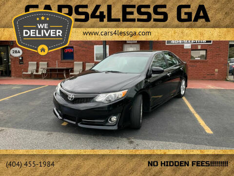 2012 Toyota Camry for sale at Cars4Less GA in Alpharetta GA