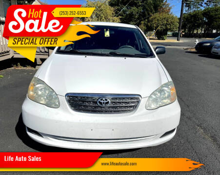 2007 Toyota Corolla for sale at Life Auto Sales in Tacoma WA