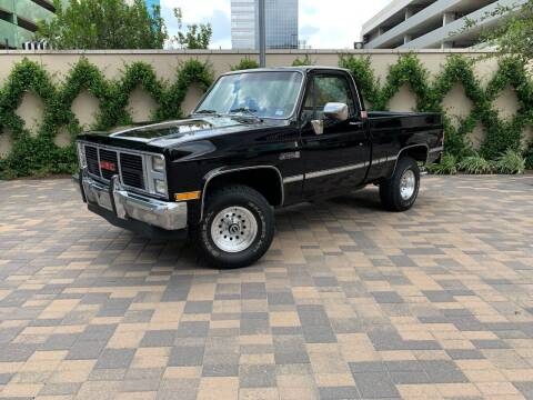 1985 GMC Sierra 1500 for sale at ROGERS MOTORCARS in Houston TX