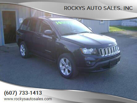 2014 Jeep Compass for sale at Rockys Auto Sales, Inc in Elmira NY