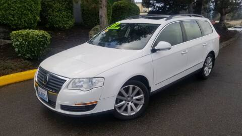 2007 Volkswagen Passat for sale at SS MOTORS LLC in Edmonds WA