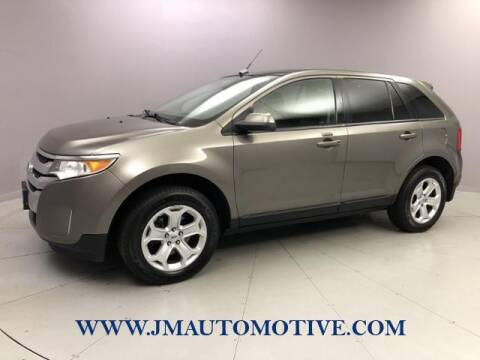 2013 Ford Edge for sale at J & M Automotive in Naugatuck CT