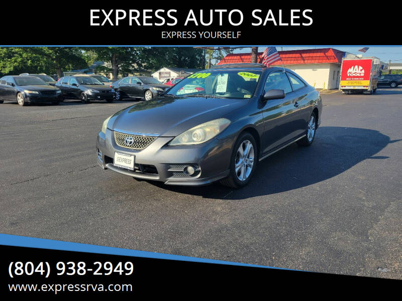 2007 Toyota Camry Solara for sale at EXPRESS AUTO SALES in Midlothian VA