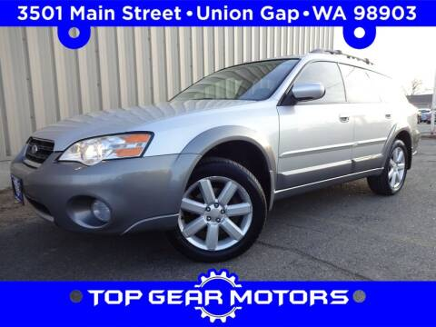 2006 Subaru Outback for sale at Top Gear Motors in Union Gap WA