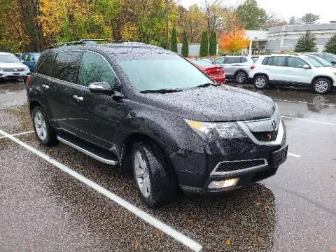 2013 Acura MDX for sale at BETTER BUYS AUTO INC in East Windsor CT