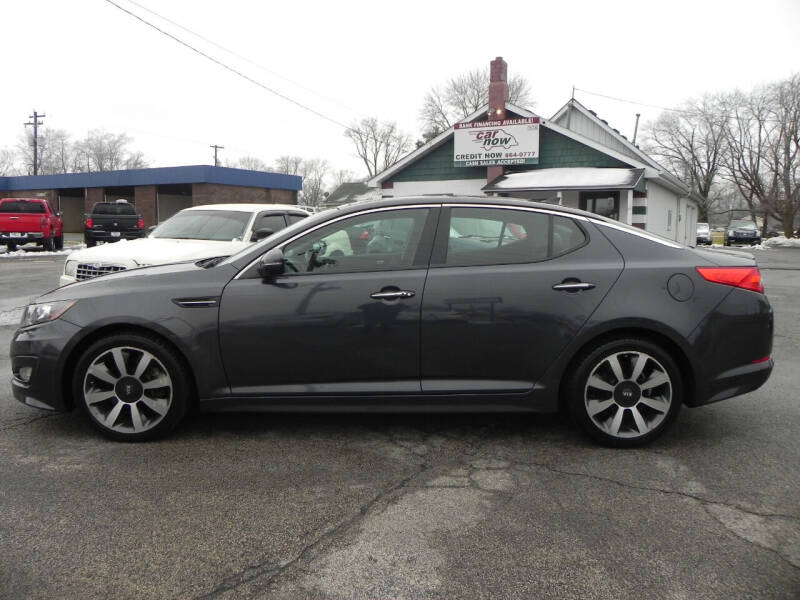 2011 Kia Optima for sale at Car Now in Mount Zion IL