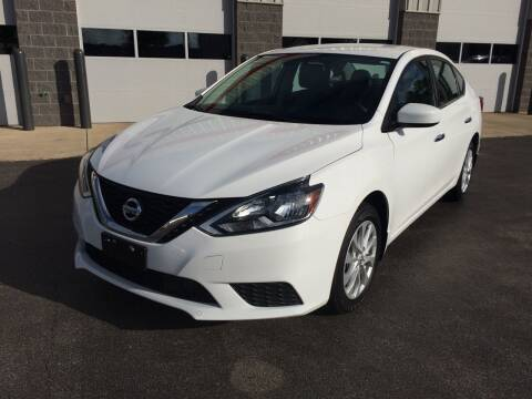 2018 Nissan Sentra for sale at RABIDEAU'S AUTO MART in Green Bay WI